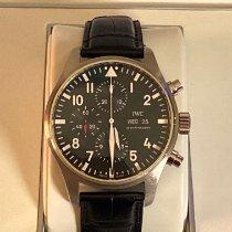 IWC Pilot Chronograph Acero 43mm Negro Arábigos España, Barcelona