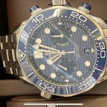 Omega Seamaster Diver 300 M Acero 44mm Azul Sin cifras