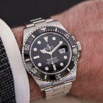 Rolex Submariner Date Acier 41mm Noir Sans chiffres France, Paris