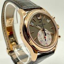 Patek Philippe Annual Calendar Chronograph Rose gold 40.5mm Grey No numerals