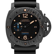 Panerai Luminor Submersible 1950 3 Days Automatic Carbone 47mm Noir Arabes