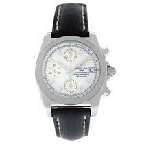 Breitling Chronomat 38 Steel 38mm Mother of pearl Arabic numerals United States of America, New York, New York