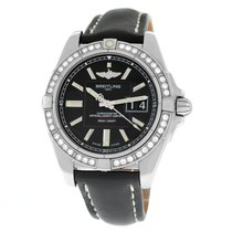 Breitling Galactic 41 Steel 41mm Black Arabic numerals United States of America, New York, New York