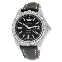 Breitling Galactic 41 новые Автоподзавод Часы с оригинальными документами и коробкой A49350LA/BA07-429X