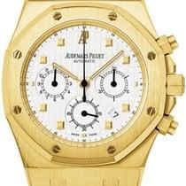 Audemars Piguet Royal Oak Chronograph Oro amarillo 39mm Blanco