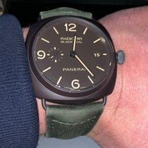 Panerai Radiomir Black Seal 3 Days Automatic Keramiek 45mm Bruin Arabisch