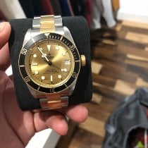Tudor Black Bay S&G pre-owned 41mm Champagne Date Gold/Steel