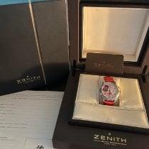 Zenith El Primero Chronomaster Lady Acero 37.5mm Blanco Arábigos