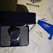 Breitling Antares Золото/Cталь 39mm Синий Aрабские