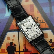 Jaeger-LeCoultre Reverso Classic Small Steel 45.6mm Silver Arabic numerals United States of America, Illinois, Chicago