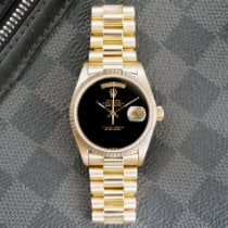Rolex Day-Date 36 Yellow gold 36mm Black No numerals United States of America, California, Santa Monica