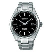 Seiko Titanium Automatic Black No numerals 40.8mm new Presage
