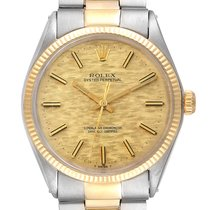 Rolex 1002 Gold/Steel 1958 Oyster Perpetual 34 34mm pre-owned