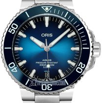 Oris Steel Automatic Blue 43.5mm new Aquis Date
