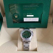 Rolex Oyster Perpetual 31 Acciaio 31mm Verde Senza numeri Italia, Roma