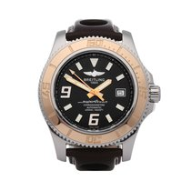 Breitling C17391 Gold/Steel 2010 44mm pre-owned