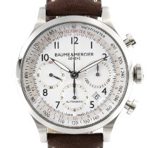 Baume & Mercier pre-owned Automatic 42mm White Sapphire crystal