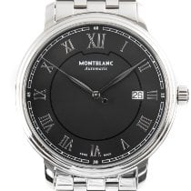 Montblanc Tradition pre-owned 40mm Black Date Steel