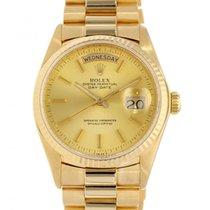 Rolex Day-Date 36 Weißgold 36mm Gold Keine Ziffern Schweiz, Lugano