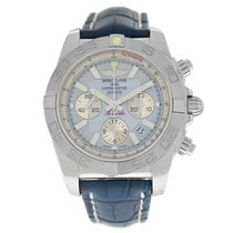 Breitling Chronomat 44 Steel 44mm Mother of pearl Arabic numerals United States of America, New York, New York