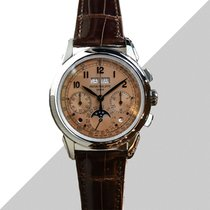Patek Philippe Perpetual Calendar Chronograph Platino 41mm Bronzo Arabi Italia, Riccione