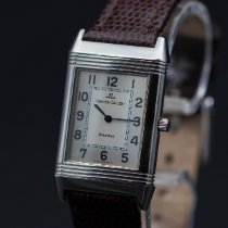 Jaeger-LeCoultre Reverso Classique Steel 23mm Silver Arabic numerals United States of America, New Jersey, Long Branch