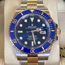 Rolex Submariner Date Gold/Steel 41mm Blue No numerals United Kingdom, Hayling Island