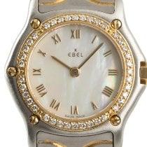 Ebel Classic Золото/Cталь 23mm Перламутровый