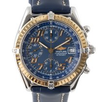 Breitling Blackbird Gold/Steel 39mm Blue