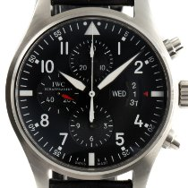IWC Pilot Chronograph Steel 43mm Black