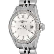 Rolex Oyster Perpetual Lady Date Steel 25mm Silver No numerals United States of America, Texas, Dallas