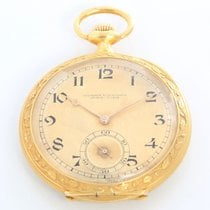 Vacheron Constantin Watch pre-owned Yellow gold 48mm Arabic numerals Manual winding Watch with original box