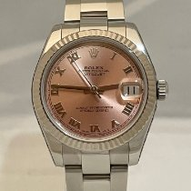 Rolex 178274 Or blanc 2008 Lady-Datejust 31mm occasion