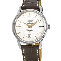 Longines Flagship Heritage Steel 38.5mm Silver United States of America, New York, Brooklyn