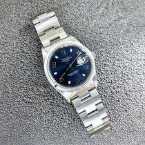 Rolex Oyster Perpetual Date Acier 34mm Bleu Sans chiffres France, Marseille