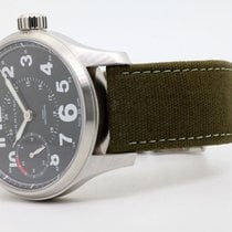 Hamilton Khaki Field Officer Steel 44mm Black Arabic numerals