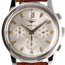 Longines Conquest Heritage Steel 38.5mm Silver
