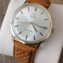 Omega pre-owned Automatic 34mm Silver Not water resistant