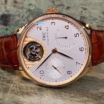 IWC Portuguese Tourbillon IW504202 Très bon Or rose 44.2mm Remontage automatique