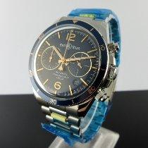 Bell & Ross BR V2 nieuw 2021 Automatisch Chronograaf Horloge met originele doos en originele papieren BRV294-BU-G-ST/SST