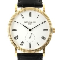 Patek Philippe Calatrava Yellow gold 36mm White
