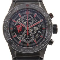 TAG Heuer Carrera Calibre HEUER 01 45mm Black