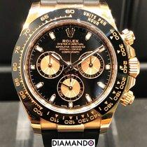 Rolex Daytona 116515ln Πολύ καλό Ροζέ χρυσό 40mm Αυτόματη