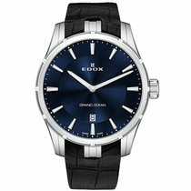 Edox Grand Ocean Steel 41mm Blue United States of America, Connecticut, Shelton