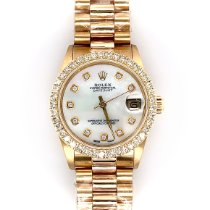 Rolex Datejust Yellow gold 31mm Mother of pearl No numerals United States of America, New York, New York