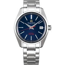 Seiko Steel Automatic Blue No numerals 40mm new Grand Seiko