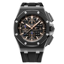 Audemars Piguet 26405CE.OO.A002CA.02 Céramique 2018 Royal Oak Offshore Chronograph 44mm occasion