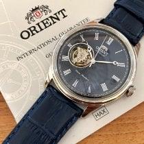 Orient Steel 43mm Blue Roman numerals