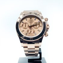 Rolex Red gold Automatic Pink No numerals 40mm new Daytona