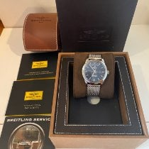 Breitling Transocean Day & Date Steel 43mm Blue No numerals United States of America, North Carolina, Nebo